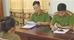 Triệu tập người phụ nữ liên quan đến vụ cháy rừng ngày 10/7 tại Diễn Châu