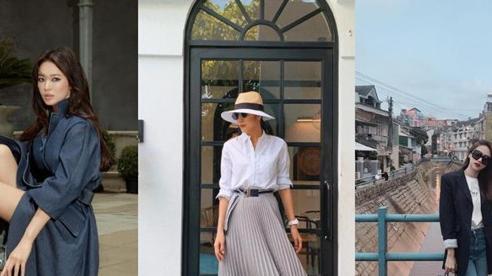 Học Hương Giang, Song Hye Kyo mix đồ với giày lười vừa đẹp vừa tiện lợi khi bận rộn