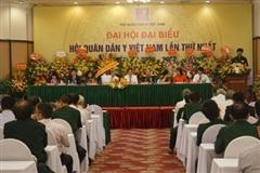 Hội Quân dân y Việt Nam ra mắt đáp ứng yêu cầu tình hình mới