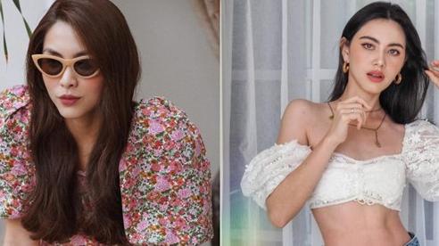 Tăng Thanh Hà, Mai Davika tạo trend cực mạnh với mốt tay áo phồng ngọt ngào