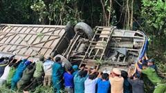 Vụ xe khách lao vực làm 5 người chết: Xe chạy sai tuyến, phụ xe dương tính với ma túy
