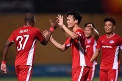 Viettel vươn lên xếp thứ 3 trên Bảng xếp hạng V-League