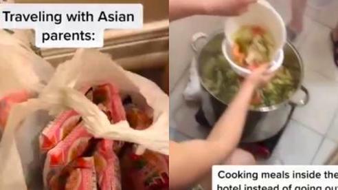 Nấu canh chua đến mức báo động cháy trong khách sạn, cô gái Mỹ có chuyến du lịch dở khóc dở cười với bố mẹ gốc Việt