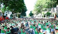 TPHCM: Hơn 30.000 người tham gia Ngày chạy Olympic