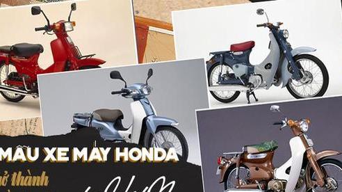 Điểm mặt 5 mẫu xe máy Honda đã trở thành huyền thoại tại Việt Nam