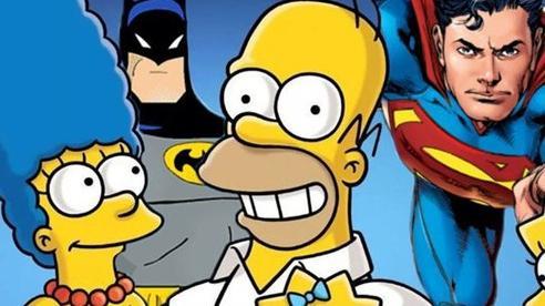 Chỉ với một khung tranh, nhân vật của The Simpsons đã trở thành một phần của đa vũ trụ truyện tranh DC