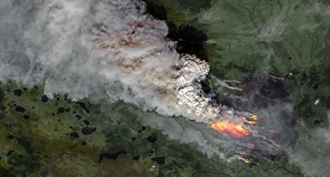 Hơn 300 vụ cháy rừng nhấn chìm Siberia 'lạnh giá' trong lửa, khói