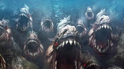 Đây là những điều sẽ xảy ra nếu bạn không may rơi xuống hồ nước chứa đầy cá ăn thịt Piranha