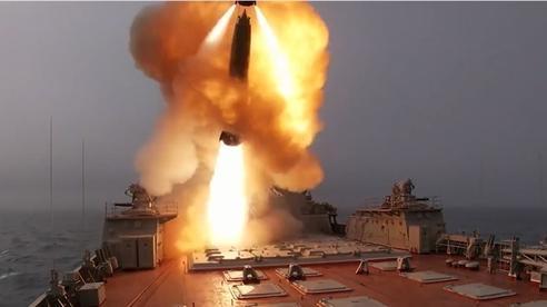 Tuần dương hạm Pyotr Veliky nã tên lửa gần NATO tập trận