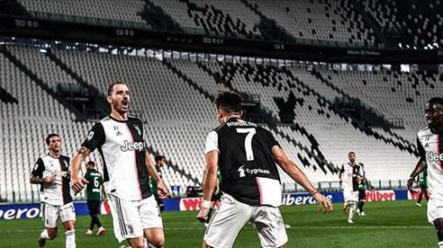 Chiếc giày Vàng châu Âu 2019/20: Ronaldo lên thứ 3, mơ đánh bật Lewandowski
