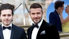 David Beckham cuối cùng cũng chịu lên tiếng về đám cưới sắp tới của cậu quý tử Brooklyn, nhận ngay '4 trái tim' tới từ con dâu tương lai