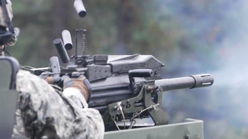 Sức mạnh súng phóng lựu liên thanh Mk19 Mỹ