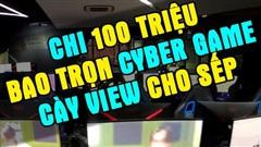 Choáng: YouTuber 9x chi 100 triệu, bao trọn Cyber Game để cày view cho 'Sếp Tùng'