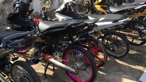 49 nam nữ từ các tỉnh về Tiền Giang 'tranh tài' đua xe thì bị bắt