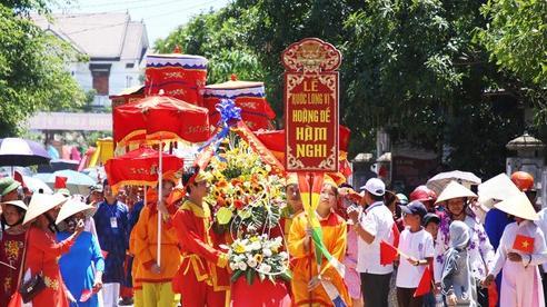 Khánh thành Đền tưởng niệm Vua Hàm Nghi