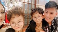 Để tóc xoăn chuẩn Hàn Quốc, con trai Lâm Khánh Chi vô cùng đáng yêu