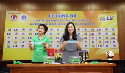 Bốc thăm lịch thi đấu Giải bóng đá nữ vô địch quốc gia