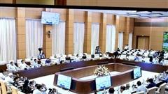 UBTVQH nghe báo cáo điều chỉnh chi NSNN của Trường Cao đẳng CNTTViệt Hàn