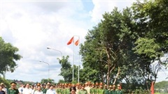 Truy điệu, an táng 10 hài cốt liệt sĩ tại Đắk Nông
