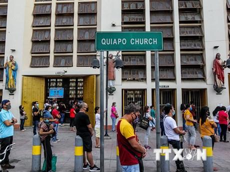 Philippines phong tỏa lại vùng thủ đô Manila do dịch bệnh COVID-19