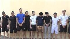 11 thanh niên dàn trận nổ súng, đánh chém loạn xạ trong đêm