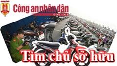 Công an phường Láng Thượng tìm chủ sở hữu 5 xe máy