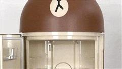 'Xếp hàng' mua tủ lạnh mini vừa trữ đồ vừa nghe được nhạc, chỉ bán giới hạn