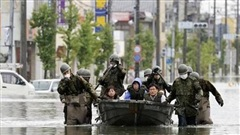Nhật Bản: Nhân viên y tế hỗ trợ bão lụt dương tính với COVID-19