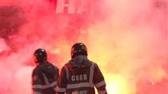 Lo ngại đốt pháo sáng trên sân Hàng Đẫy, năm nay BTC phải nhờ cảnh sát hình sự vào cuộc