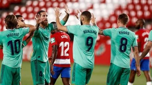 Thắng trận thứ 9 liên tiếp, Real chạm một tay vào cúp bạc La Liga