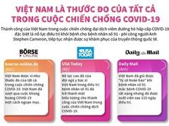 Việt Nam là thước đo tất cả trong cuộc chiến chống COViD-19