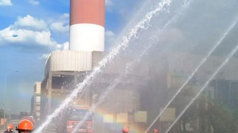 Hà Tĩnh: Huấn luyện, diễn tập phòng cháy chữa cháy và cứu nạn cứu hộ cho Công ty Điện lực Dầu khí