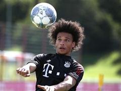 Leroy Sane hào hứng trong buổi tập đầu tiên với Bayern Munich