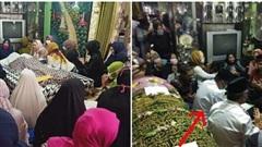 Sợ cha không được chứng kiến mình lấy vợ, chàng trai tổ chức đám cưới ngay cạnh quan tài người đã khuất