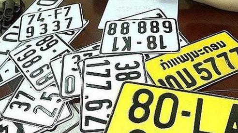 Từ 1/8, xe kinh doanh vận tải sẽ phải đổi sang biển số màu vàng