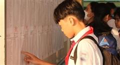 Trên 82 ngàn thí sinh tại TP Hồ Chí Minh làm thủ tục thi vào lớp 10