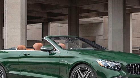 Mercedes cho phép khách hàng tuỳ biến mọi màu sơn nếu có nhu cầu