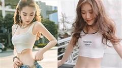 Hết bị Vũ Khắc Tiệp 'bóp team', Ngọc Trinh lại vừa mất trắng danh hiệu 'đệ nhất vòng eo Showbiz' bởi hot girl 'trẻ măng' này