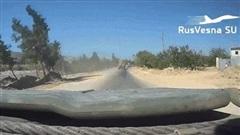 Lao xe bom vào Quân cảnh Nga, khủng bố Syria trả giá đắt: 'Quái thú' BTR-82A lập công lớn