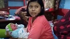 Người phụ nữ tuyên bố mang thai chỉ một tiếng trước khi sinh