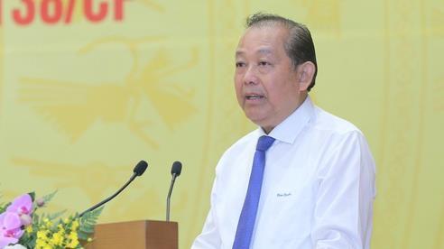 Phó Thủ tướng Thường trực: Cán bộ tha hoá, bao che, tiếp tay cho tội phạm