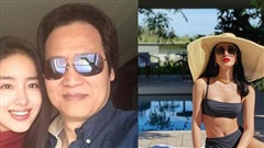 Nhan sắc tình trẻ nóng bỏng, kém 30 tuổi của cha nuôi Lưu Diệc Phi