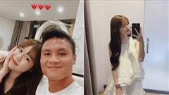 Huỳnh Anh vừa đăng ảnh 'sống ảo', Quang Hải liền công khai 'nịnh' bạn gái ngọt như thế này đây!