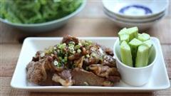 Học được người bạn Hàn Quốc cách làm món thịt xào, cả nhà tôi ai cũng khen tấm tắc