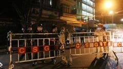Ảnh: Đà Nẵng chính thức thực hiện cách ly xã hội tại 6 quận, một số tuyến đường được phong tỏa