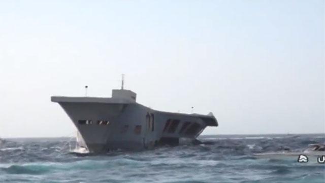 Xem Iran dàn quân khống chế mô hình tàu sân bay Mỹ