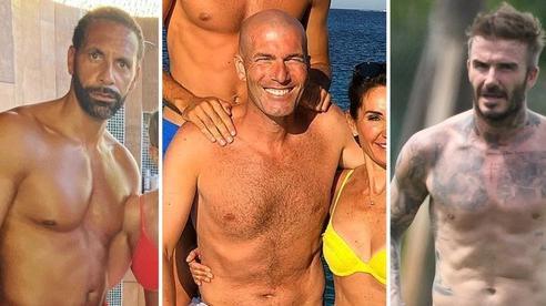 Trầm trồ trước dàn danh thủ đã giải nghệ nhưng vẫn giữ được body đáng mơ ước: Cựu trung vệ MU có bắp tay cực khủng, ấn tượng nhất vẫn là David Beckham