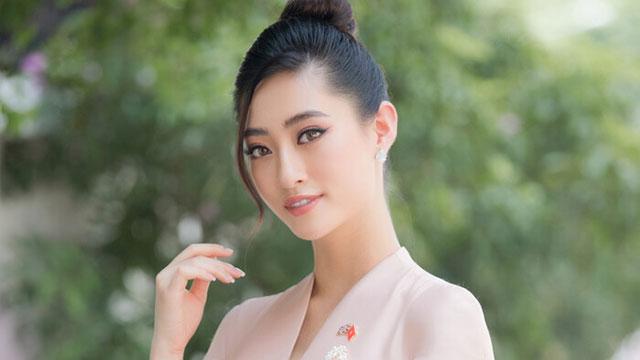 Hoa hậu Lương Thùy Linh đẹp thanh lịch tuyên truyền thông điệp cộng đồng ý nghĩa