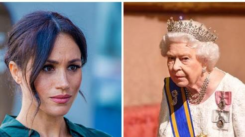 Sau khi bị yêu cầu rời khỏi hoàng gia Anh, Meghan Markle có động thái đầy thách thức, không kiêng nể một ai