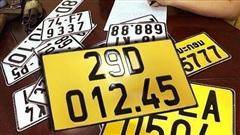 Từ 1/8, cần chú ý những điểm mới sau khi đăng ký xe